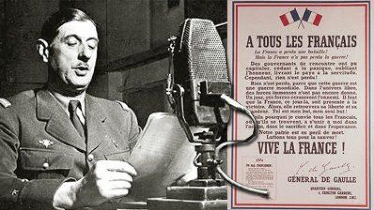 18 juin De Gaulle